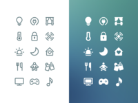 Stroke & Solid Icons