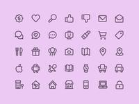 RetailMeNot - Icon Suite