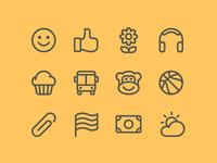 Emoji Category Icons