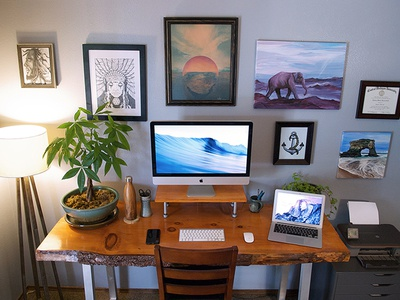 My Home Workspace