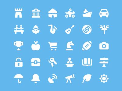Salesforce Iconography app web ux ui set glyph iconography icons salesforce