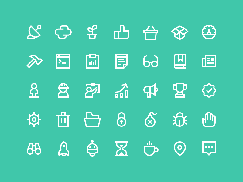 Hewlett Packard Enterprise Iconography By Zach Roszczewski Dribbble