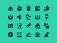 iOS Edge Glyph - 1200 icons