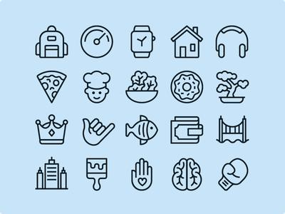 Ios Edge Line - 1200 icons flaticons ios line icon set set icon iconography icons