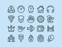 Ios Edge Line - 1200 icons