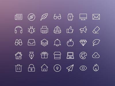 iOS Edge   Free Icon Set!