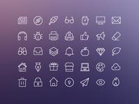 iOS Edge | Free Icon Set!