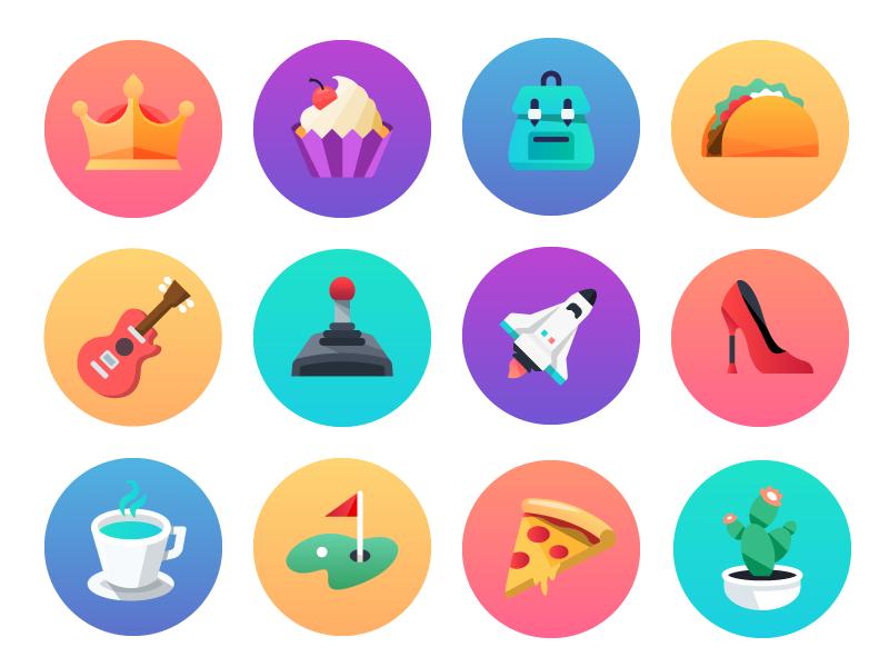 User icons 2x