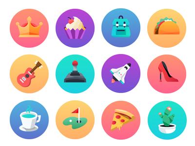 Comcast Digital Home | User Icons