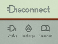 Disconnect Movement | Logo & Icons