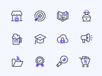 Mesosphere Duotone Icons | Full Icon Set