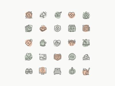 Wellness Icons - Full Set