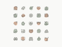 Wellness Icons - Full Set