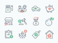 TurboTax Iconography