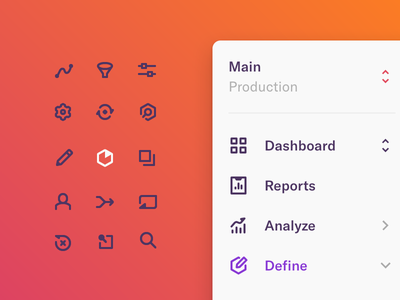 Heap App Iconography ux ui web icon set icon iconography icons app