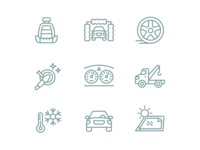Auto Service Iconography