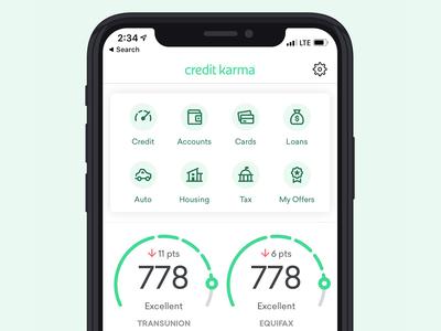Credit Karma - App Icons UI