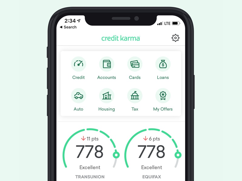 Credit Karma - App Icons UI ui icon design iconography app icons iconset icons app credit karma