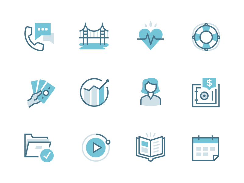 Security Benefit icons   Pt 2