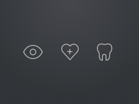 Medical, Dental, & Vision Icons