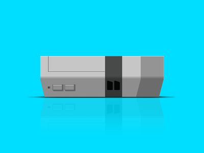 Nintendo Entertainment System Vector