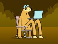 Squatchin Character Design