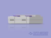 Super Nintendo Vector