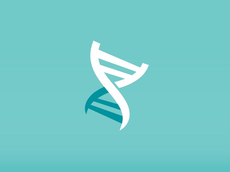 Helix (not the badass rock band) helix logo branding chemistry dna blue science toronto