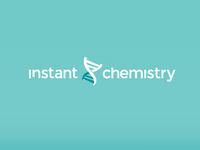 Instant Chemistry logo chemistry toronto instant chemistry clean startup branding
