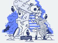 Hobo Skeleton