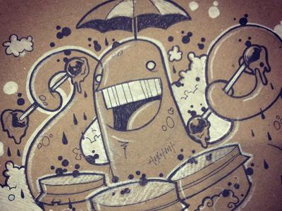 Squid & The Brain Jar Drums