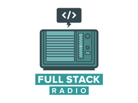 Full Stack Radio Stickers