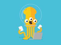 Squid / Alien Character Concept