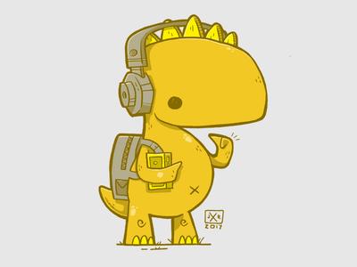 Walkman Dinosaur