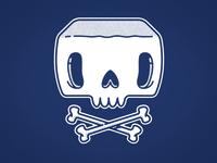 Skully - New Jetpacks & Rollerskates T-Shirt!