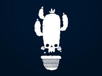Cactus Skull Reversed