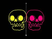 Neon Skulls Activate