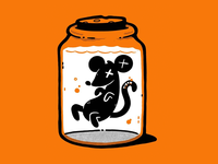 Rat In Jar