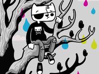 Emo Kitty