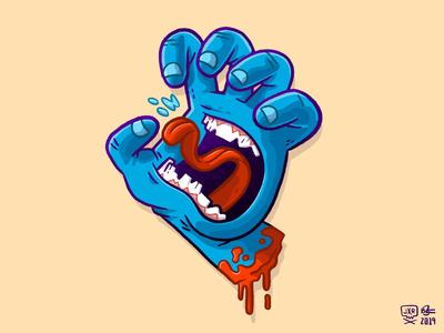 Screaming Hand
