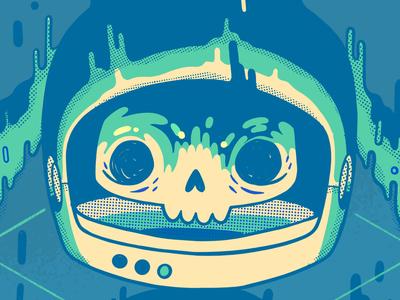 Melty Space Skull