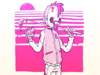 Hotline Miami Sketch