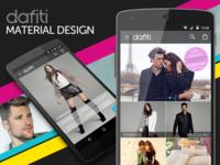 Dafiti app for Material Design