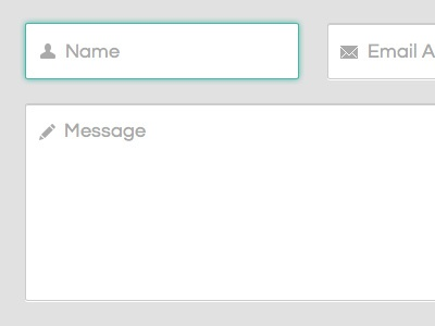 Contact Form forms ui clean