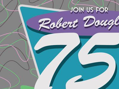 Retro Birthday Invite invitation retro