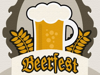 Beerfest Badge fall badge illustration beer