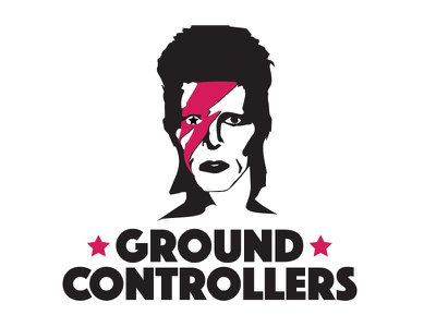 Ground Controllers Logo 2 outer space space major tom david bowie