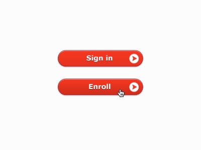 Little Red Buttons buttons ctas red ui