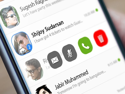 WhatsApp Redesign Concept chat whatsapp ios material creative concept app mobile clean redesign ux ui