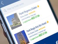 Booking.com iOS App Redesign concept.